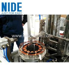 Big water pump motor brushless motor BLDC stator needle winding machine