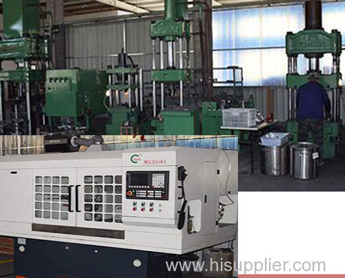 Hydraulic Machine and Metal lathe