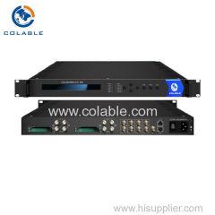 4 cams demodulator decoder ird 4 tuner (DVB-C/T/T2/S/S2 Optional) input