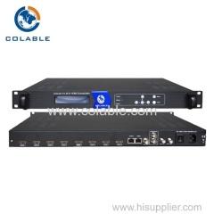 4/8 ch hdmi isdbt atsc encoder modulator for Hotel TV System