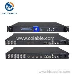 4 channels hd&av to dvbc&dvbt encoder modulator