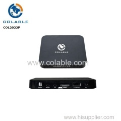 android 7.1 iptv to dvbc set top box support SKYPE video call/MSN/facebook/twitter/QQ