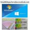 Original Windows 10 pro / Home OEM Coa Sticker 100%License Key