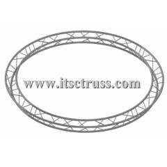 Circular lighting truss with Triangular truss 290x290mm for Theatre lighting rig