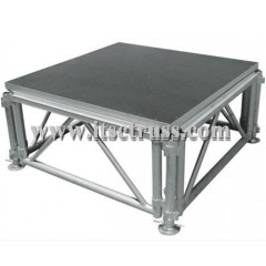 Used mobile modular stage for sale