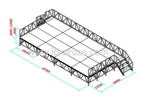 The Best supplier for the safest stage system