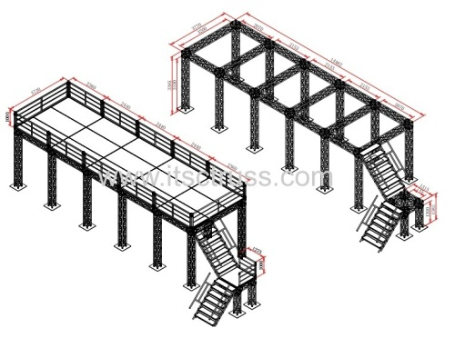 Stage truss system for sale