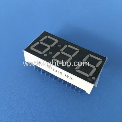 Super bright green Triple digit 0.56  7 segment LED Display for Temperature indicator