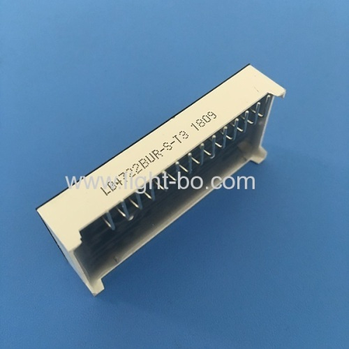 Customized Ultra Red Vertical 7 Segment LED Display for Refrigerator Controller