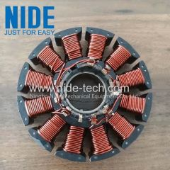 BLDC external armature coil winding machine fresh air motor stator winder