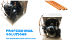 1HP Open Type Condensing Unit with Embraco Compressor