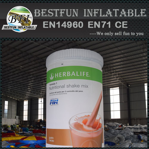 Giant Inflatable Bottle Outdoors Advertising