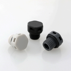 Plastic Vent Plug with waterproof and breathable membrane