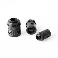 Straight Connector for nylon corrugated tubings
