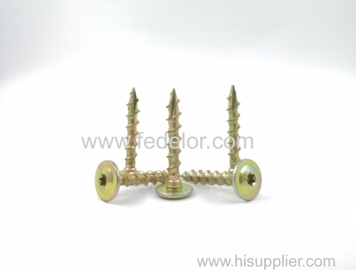wafer head wood construction screw