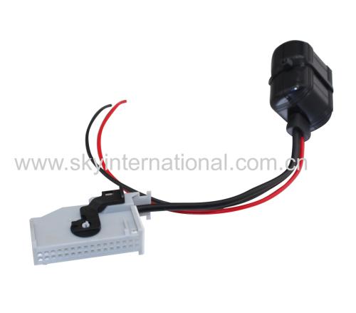 RNS-E Navigation Bluetooth Aux Input Adaptor 32Pin For Audi A4 A6 A8