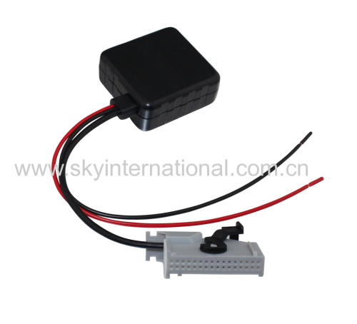 RNS-E Navigation Bluetooth Aux Input Adaptor 32Pin For Audi A4 A6 A8 With Filter