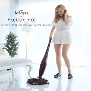 Electric Wet Dry Vacuum Cleaner Wireless Cleaning Mop Magic Spinning mop