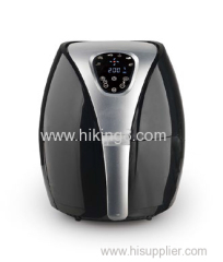 2.5L air fryer with digital panel touch screen