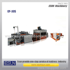 Full Automatic Mattress Compress and Roll Packing Production Line
