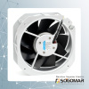 Axial fan 225x225x80mm metal blades Alu. frame for distribution board