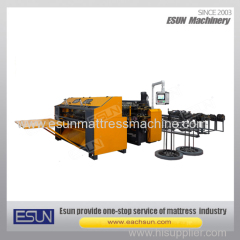 Continuous support innerspring assembly machine