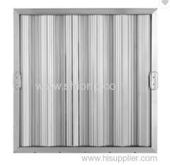 Aluminium Amercican style baffle filters