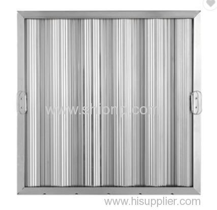 Aluminium Amercican style baffle filters