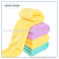 Microfiber Coral Fleece Towel
