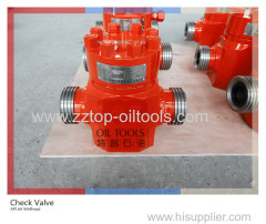 "API 6A Wellhead Flow Line Check Valve 3"" x 6000 psi"