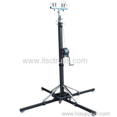 Crank stands for lighting truss