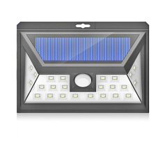 24LED Solar Motion Sensor Light