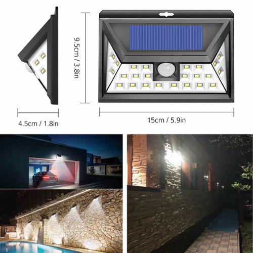 24LED Solar Motion Sensor Light