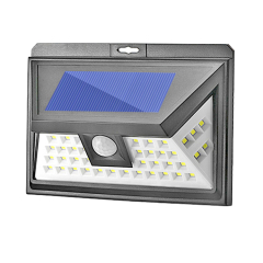 44LED solar motion sensor light