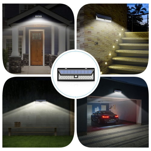 54LED Solar Motion sensor Light