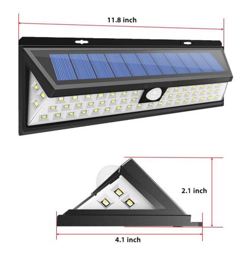 90LED Solar Motion Sensor Light
