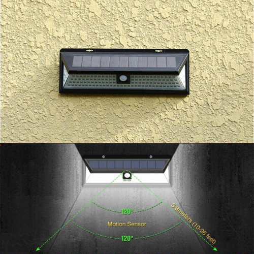 118LED soar motion sensor light