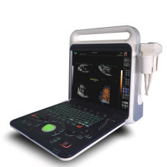 Portable full digital color doppler ultrasonic system