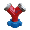 """2"""" Weco Hammer Union Wyes 15000PSI Fig 1502 Integral Fittings"""