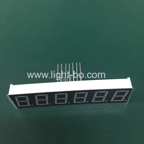 Long lead length super bright red 0.56 common cathode 7 Segment LED Display for Instrument Panel