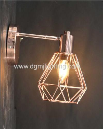 Breman Wall Light Copper Metal shade