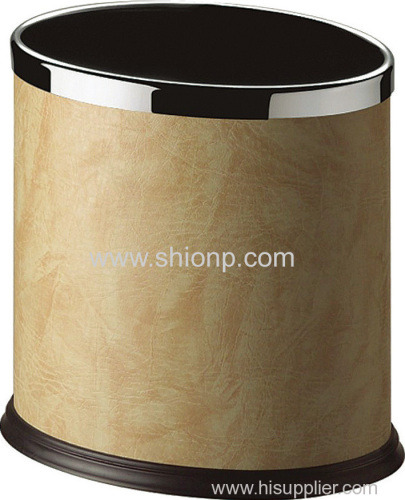 Oval shape dustbin (Beige)
