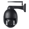 2MP Black color wifi IP speed dome cctv cameras 2.7-13.5mm 5x optical zoom wire free PTZ cameras outdoor wifi camera