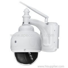 Sony sensor 2MP HD Wifi IP PTZ cameras 6-22mm 4x POE power supply wire free dome cameras 1080P IP cameras