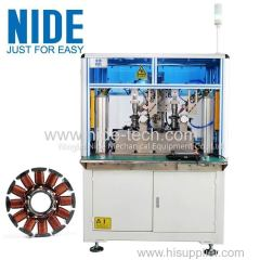 Blower BLDC motor armature rotor needle winding machine coil winding equipment
