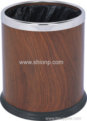 Double layer dust bin for hotel use