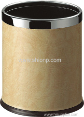 Beige color hotel dust bin