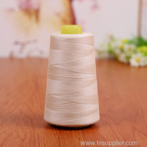 3000yard 100% polyester spun sewing thread