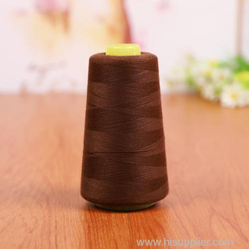 3000yard 100% polyester spun sewing thread