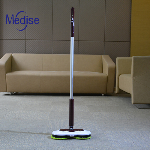 Wet Dry Electric Spin Mop 360 Microfiber Mop For Hardwood
